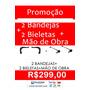 2 Bandejas E 2 Bieletas Peugeot 206 + Mão De Obra