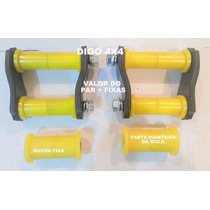 Jumelo (algema) Mitsubishi L-200 Valor Do Par Buchas + Fixas