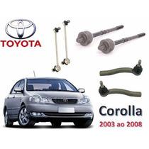 Kit Barra Axial Bieleta E Terminal De Dir Toyata Corolla 09/