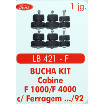 Bucha Kit Cabine F1000 F4000 Com Ferragem 92 Para Tras
