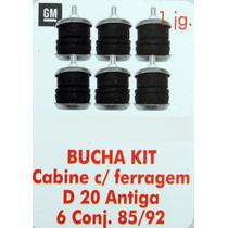 Bucha Kit Cabine Com Ferrangem D20 Antiga 6 Conj 85 Até 92