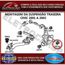 Bucha Da Manga De Eixo Traseira Civic 2001 A 2006 [48x46x14]