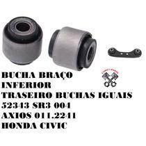 Par Bucha Braço Traseiro Honda Civic Axios 011.2241