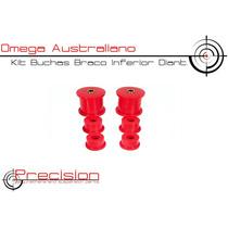 Omega Australiano - Kit Buchas Braço Inferior Diant. Em Pu