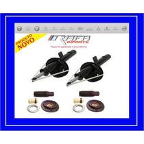 Amortecedores + Kit Dianteiro Batente Coxin Peugeot 206 207