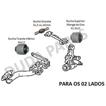 Kit Buchas Traseiras Civic 01/06 - 02 Lados
