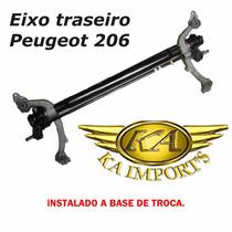 Eixo Traseiro Do Peugeot 206 Instalado