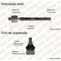 Axial Articulador + Pivô Balança Bandeja Fit - Orig Viemar