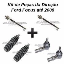 Kit Axial + Terminal Ponteira De Direção Ford Focus Até 2008