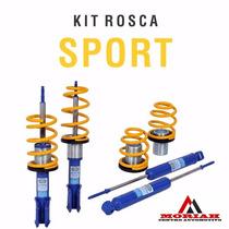 Kit Suspensão Rosca Gm Corsa Wind Classic - Sport Tebão