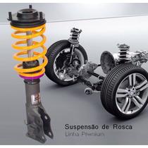Suspensão De Rosca Audi A3 96/06 E Golf 99/13- Rosca Grossa