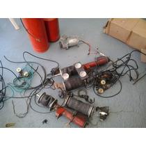 Kit Suspensão Ar Omega Com Compressor