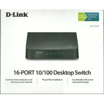 Switch 16 Portas 10/100mbps Des-1016a D-link