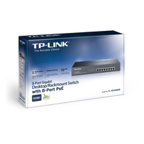 Switch Desktop / Rack Com 8 Portas Poe Tl-sg1008pe Tp-link