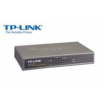 Tp-link Hub Switch 08p Tl-sf1008p 10/100 Desktop Poe