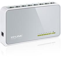 Switch Tp-link Tl-sf1008d De 8 Portas 10/100mbps