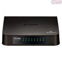 Switch D-link Des-1016a 16 Portas 10/100mbps Preto + Nfiscal