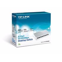 Hub Switch Original Tp-link Tl-sf 1008d 8 Portas 10/100mbps