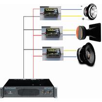 Divisor Freq 3 Vias 8 Ohms 800watts Profissional