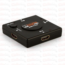 Hub Hdmi Switch 3x1 Divisor 3 Portas P/ Ps3 Frete Gratis