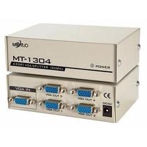 Distribuidor Divisor Video Vga Splitter 1/4 Sinal Monitor