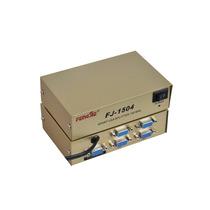 Distribuidor Video Vga Splitter Divisor 4 Saídas P/ Monitor
