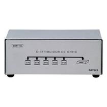 Splitter Distribuidor De S-video 1x5 C/audio Dsv1x5