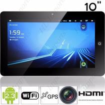 Tablet De 10 C/ Gps + Wifi + Android 2.3