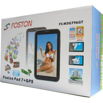 Tablet Foston Tv Celular 2chip Debloq Android 4gb 3g Interno