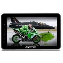Tablet E Gps Foston, Android 4, 3g Embutido, Telefone 2 Chip