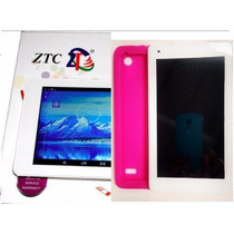 Tablet Ztc Dual Core 1.4 Gh Android 4,2 ,4gb 3g Branco/rosa