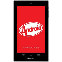 Novo Tablet Genesis 7304 And 4.4 Kitkat 8gb Dual Cam Core Wi