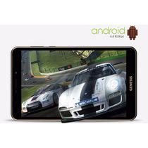Tablet Genesis Gt8410 Quadcore Capa+pelic 3g Função Celular