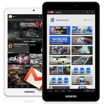 Tablet Genesis Gt-7303 /dual Core/3g/ Wifi + Capa + Pelicula