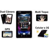 Tablet Celular Genesis Gt-7250 Chip Gsm 3g Gps