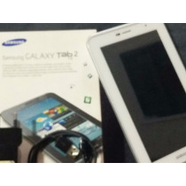 Samsung Galaxy Tab 2 P3100 Branco 3g Chip 16gb Black Friday!
