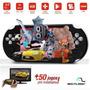Tablet Gamer Tipo Psp 350 Jogos C/ Nota Fiscal+cartão Sd 8gb