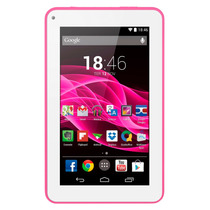 Tablet Multilaser M7s Rosa Quad Core Android 4.4 Kit Kat