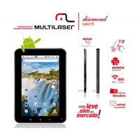 Tablet Multilaser 8 Gigas Diamond Lite, Android 4.0, Wifi