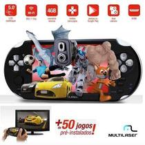 Tablet Gamer Multilaser Tipo Psp150 Jogos C/ Nota Fiscal