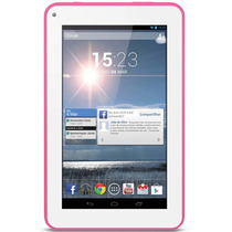 Tablet Multilaser Supra Mlx7 Rosa C/android4.4 Mania Virtual