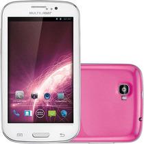 Smartphone M5 - 3g Rosa - Nb051 Multilaser