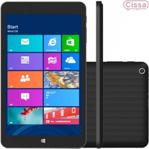 Tablet Qbex Tx280i Windows 8.1, 16gb, 2mp 8 Preto Lacrado