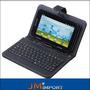 Tablet 3g Android Wifi Camera + Capa Teclado + Caneta Touch