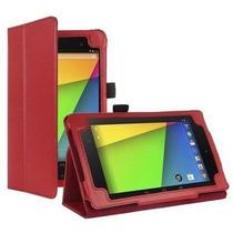 Capa Case Asus Google Nexus 7- 2ª Geração Vermelha +película