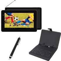 Tablet Android Wifi 3g Lançamento - Tela De 7 + Teclado