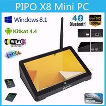Mini Pc Windows 8 Android Pipo X8 Quadcore Pronta Entrega!