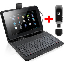 Tablet 7´ Modem 3g Android 4.4 Hdmi Bluetooth + Capa Teclado