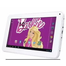 Tablet Da Barbie 8g Dual Core Android Com Fone Infantil