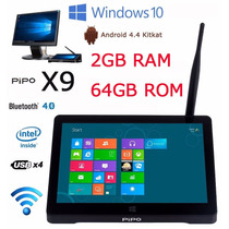 Mini Pc Pipo X9 Windows 10 Android 4.4 2gb + 64gb No Brasil